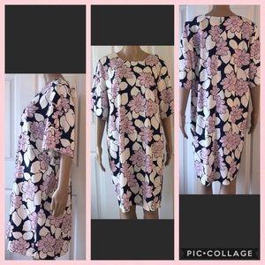 🆕 Ann Taylor Factory Keyhole Sleeves Dress